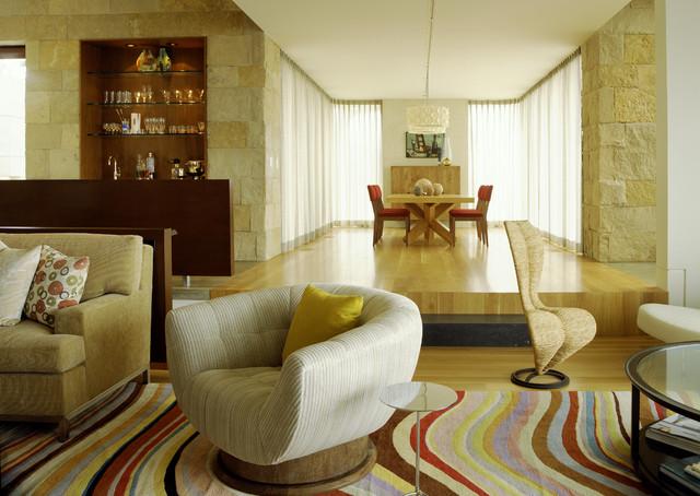 Laguna Beach Modern modern-living-room