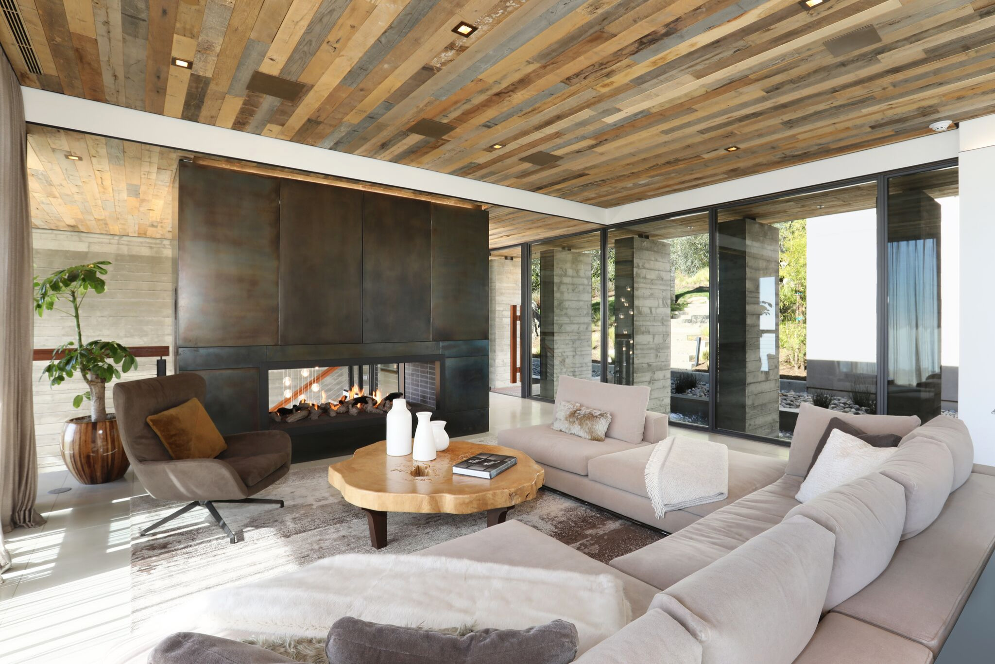 75 Beautiful Living Room With A Media Wall Pictures Ideas February 2021 Houzz