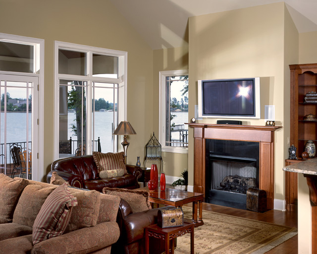 Lake Bungalow traditional-living-room