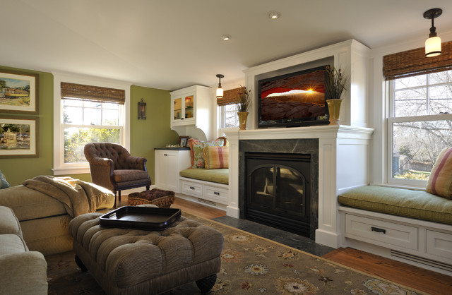 Lake Country Builders traditional-living-room