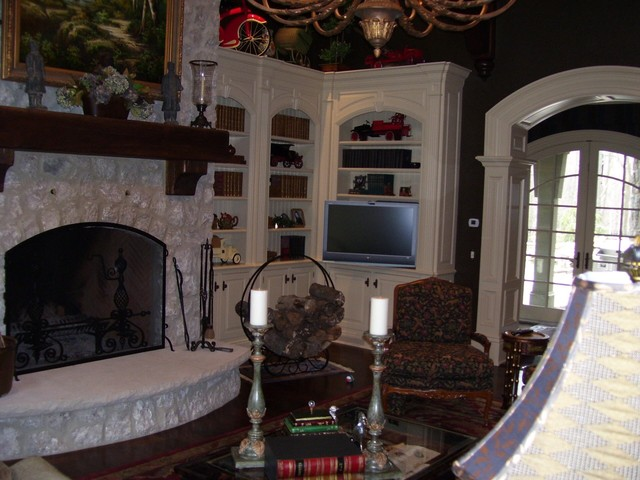 Lake Forrest Traditional Living Room Cleveland By