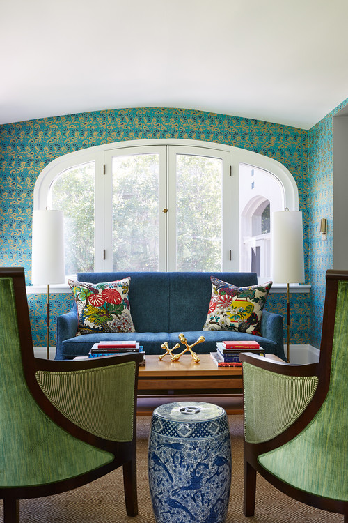 embrace color and patterns in kid-friendly home in hunterdon county nj