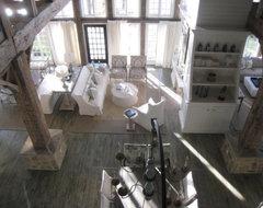 Lake Martin Retreat eclectic-living-room