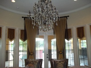 Lake Mary Project, Florida traditional-living-room
