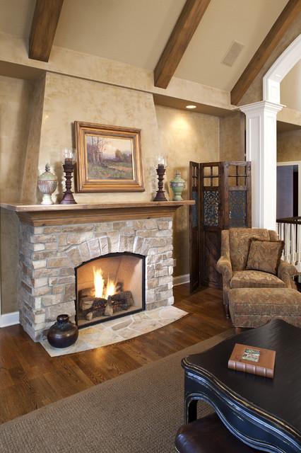 Lake Minnewashta Remodel traditional-living-room