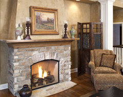 Lake Minnewashta Remodel traditional living room