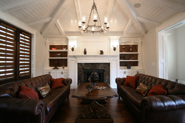 Lake Norman The Point - Traditional - Living Room ...