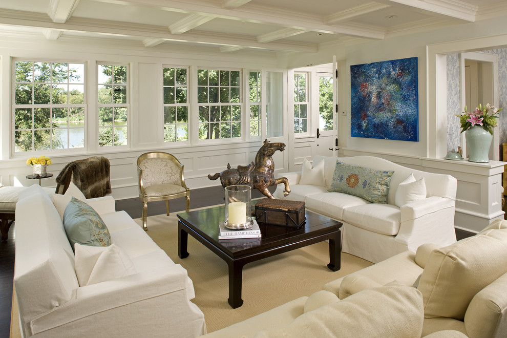 Inspiration for a large timeless formal living room remodel in Minneapolis with no tv