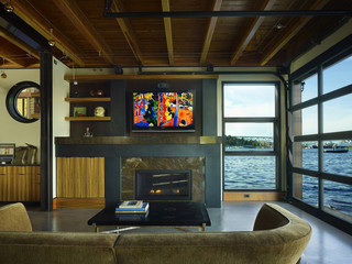 Lake Union Float Home Seattle Wa Industrial Living