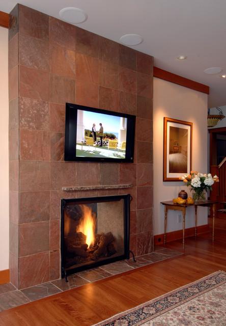 Lake Washington traditional-living-room