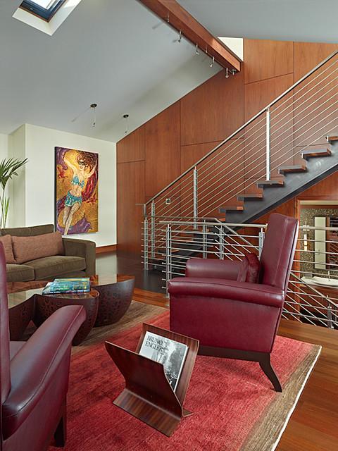 Lakefront Splendor contemporary-living-room
