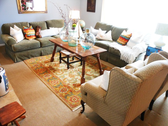 Lakeshore Remodel traditional-living-room