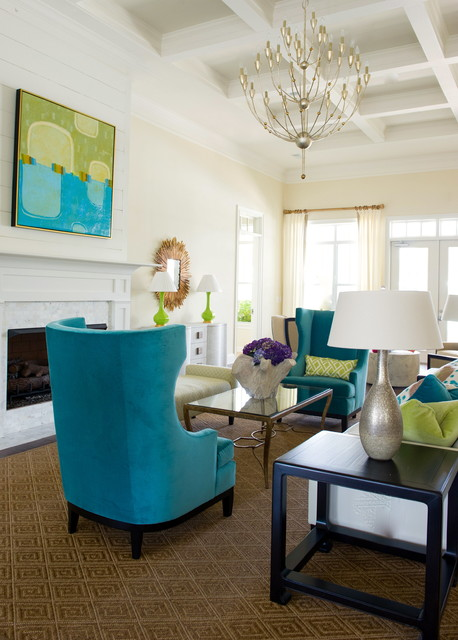 Lakeside contemporary living room atlanta by leigh for Living room atlanta