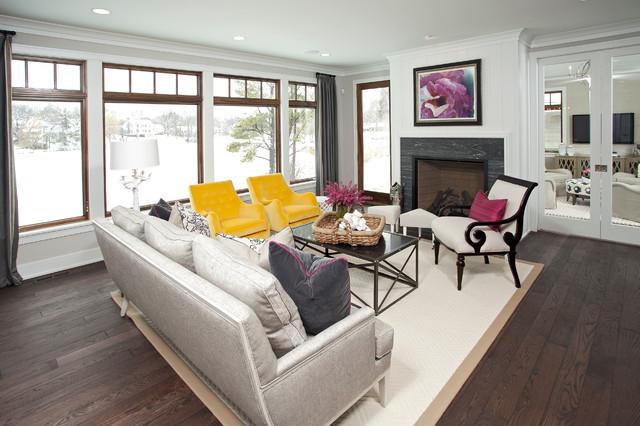 Lakeside Living transitional-living-room