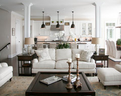Barrie Residence traditional-living-room