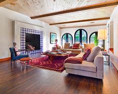 LAKEWOOD / Dallas mediterranean-family-room
