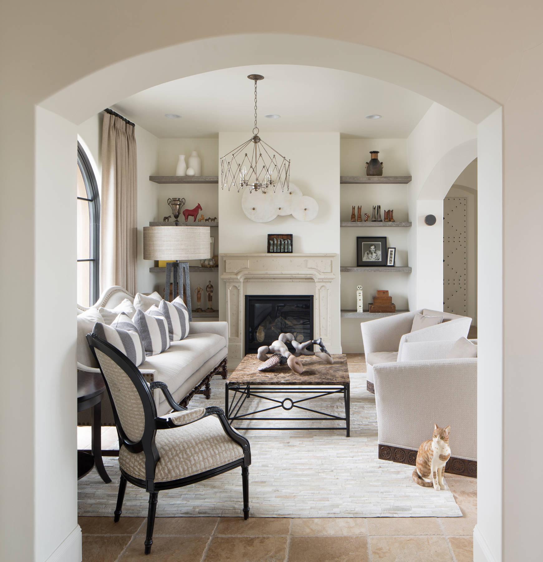 Sala Da Pranzo Country Chic 75 beautiful rustic ceramic floor living room pictures