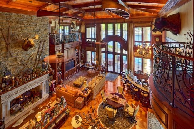 Lambert Residence traditional-living-room