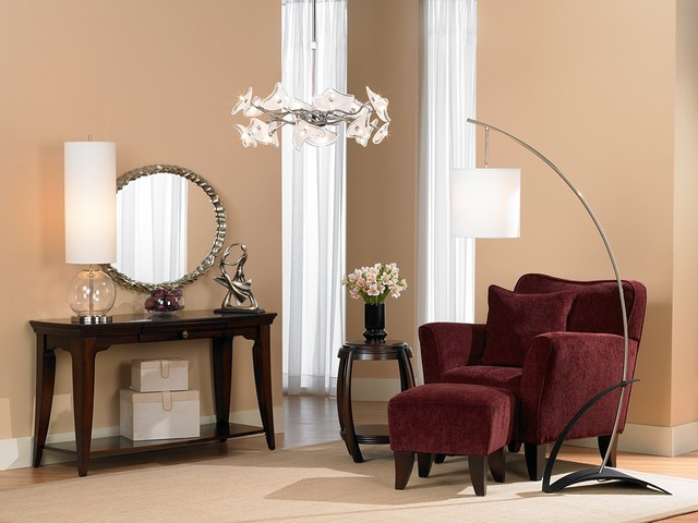 LAMPS PLUS contemporary living room