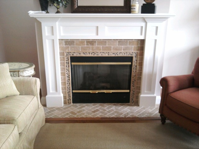 Lancaster Fireplace living-room