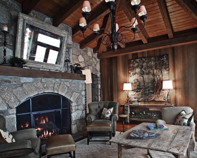 Landrum SC residence living-room