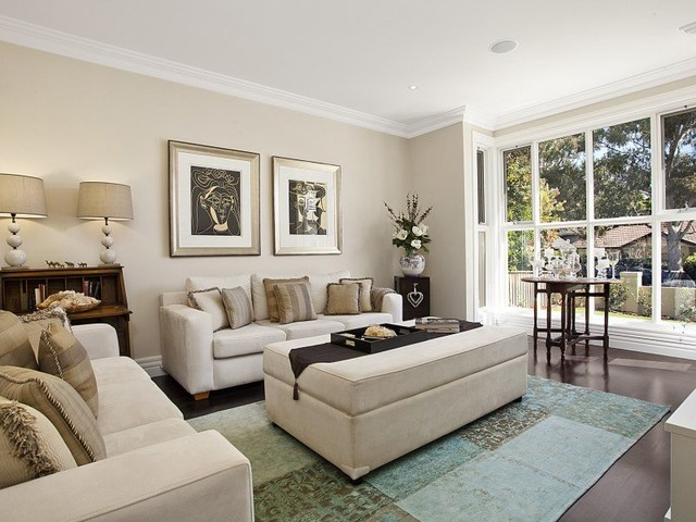 Living Room Ideas New Build lane cove new build - contemporary - living room - sydney -poc