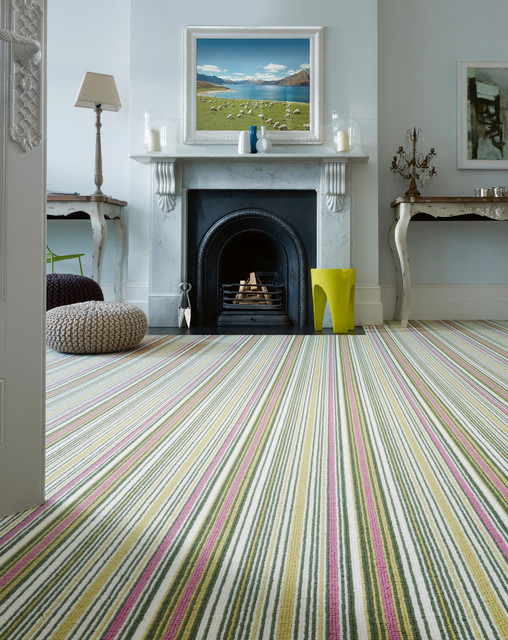 Laneve Carpets   Biscayne Stripe By Crucial Trding Contemporary Living Room