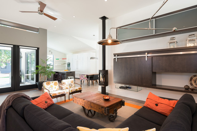 Langley Modern contemporary-living-room