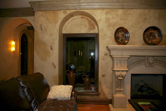 Langley oldworld villa for Living room 983