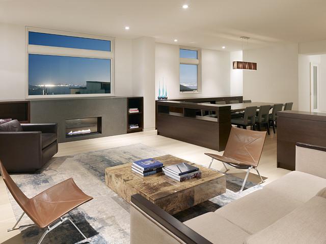 Larkin Street Residence modern-living-room