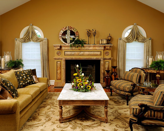 Mustard wall living room design ideas pictures remodel Mustard living room ideas