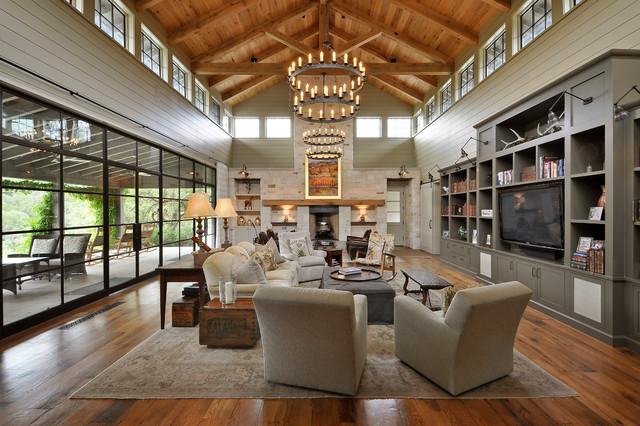 Las Lomas Residence contemporary-living-room