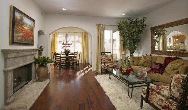 Las Palmas Viejas Living Room mediterranean-living-room