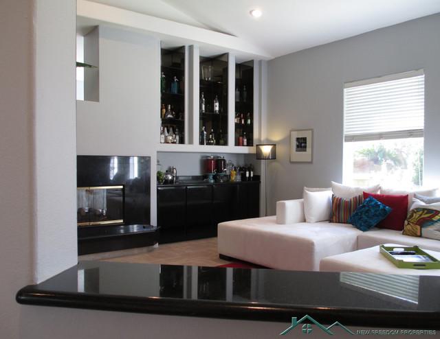 Las Vegas Home Remodel traditional-living-room