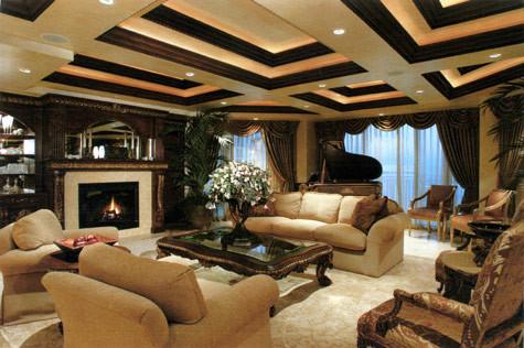 Las Vegas Penthouses Traditional Living Room Part 8