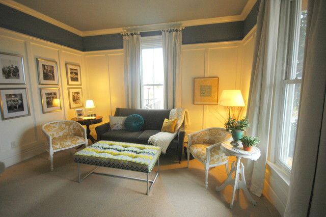 Interior Designers & Decorators. Late 1800's home's gets a living room face  lift! transitional-living-room