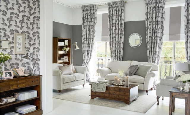 Laura Ashley Park House Living Room Traditional