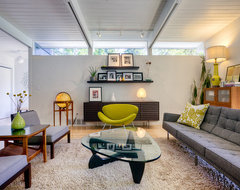 Laurelhurst House modern living room