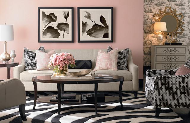 Lauren Sofa By Bassett Furniture Modern Living Room