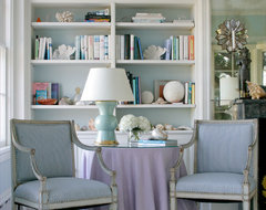 Lavender Living Room beach-style-living-room