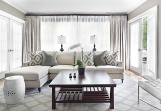 LaVista Park Renovation & Interiors traditional-living-room