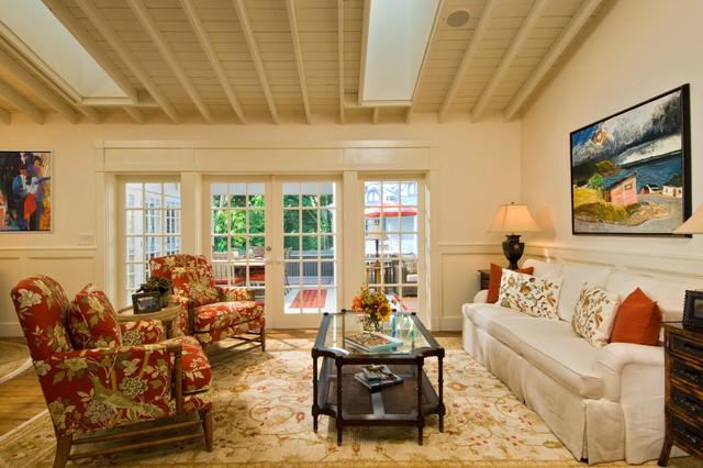 LDL Interiors Lynn Lombardi Naples FL eclectic-living-room