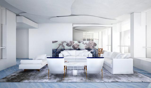 Le Nouvel Ardmore apartment - Arts & Crafts - Living Room ...