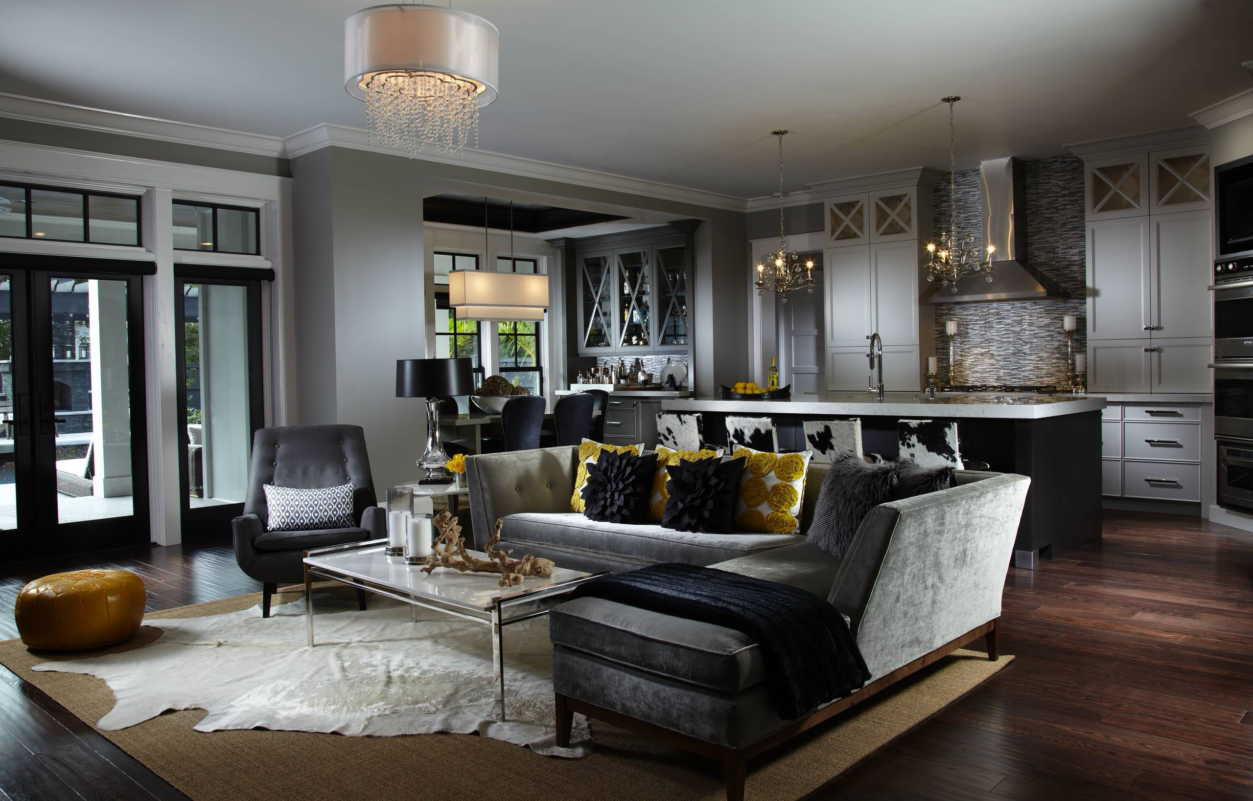 Black Leather Sofa Ideas Houzz