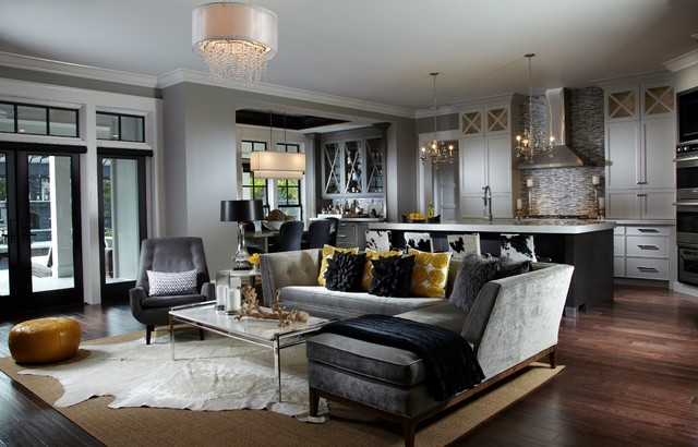 Leach Residence Transitional Living Room Miami By Freestyle Impressive Transitional Living Rooms