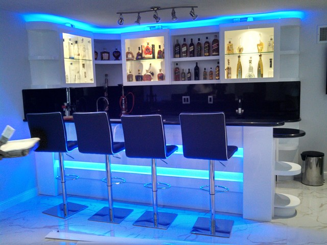 Led Strip Installations Modern Living Room Los Angeles By Btec Entertainment Designs Houzz Uk