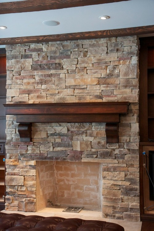 Rock Fireplace Ideas