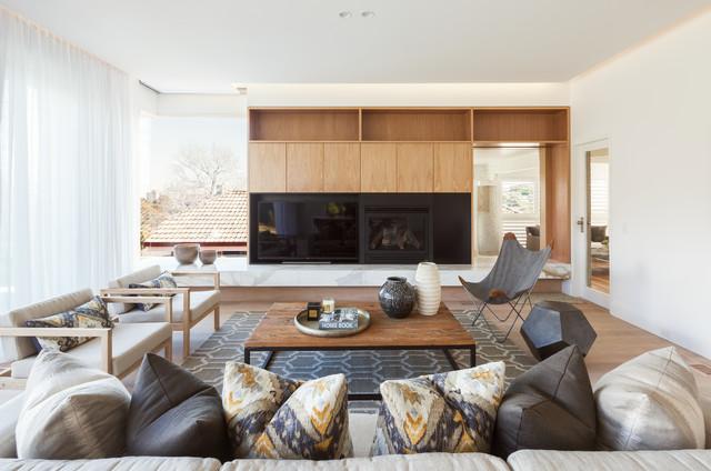 LENNOX STREET HOUSE Scandinavian Living Room Sydney