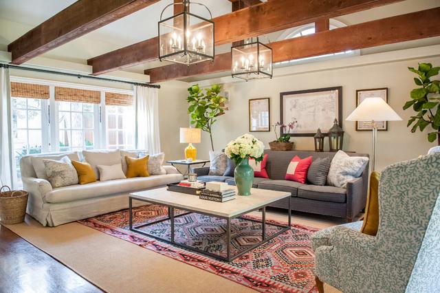 Lenox Residence Traditional Living Room