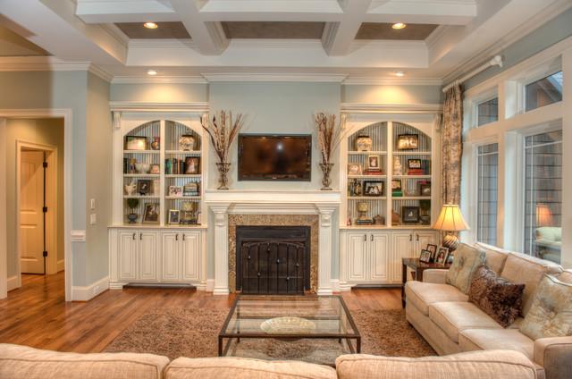 Lester Residence traditional-living-room